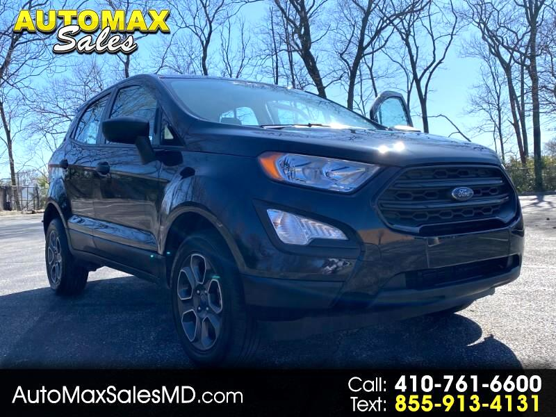 Ford EcoSport S AWD 2018