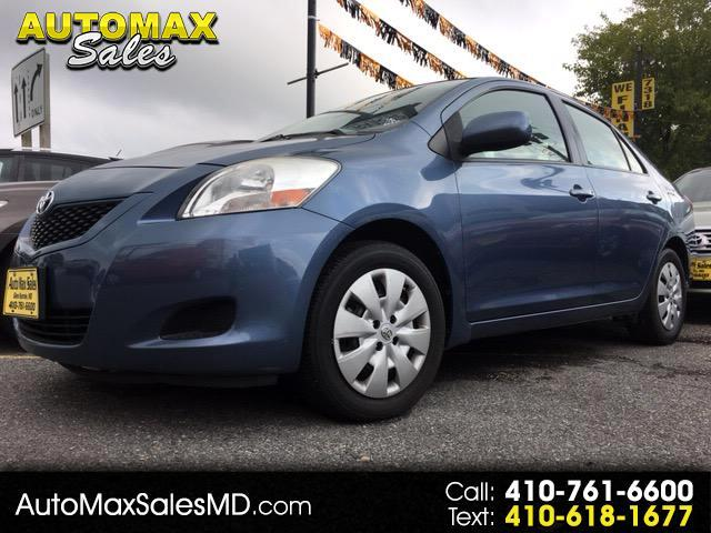 2012 Toyota Yaris Sedan 4-Speed AT