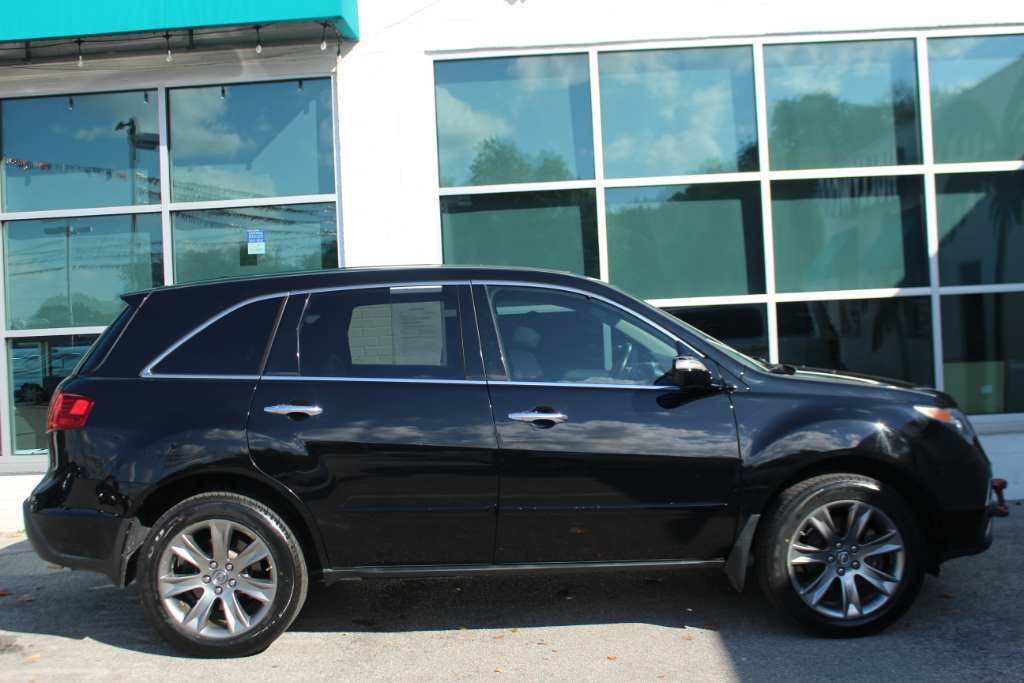 2010 Acura MDX AWD 4dr Advance/Entertainment Pkg