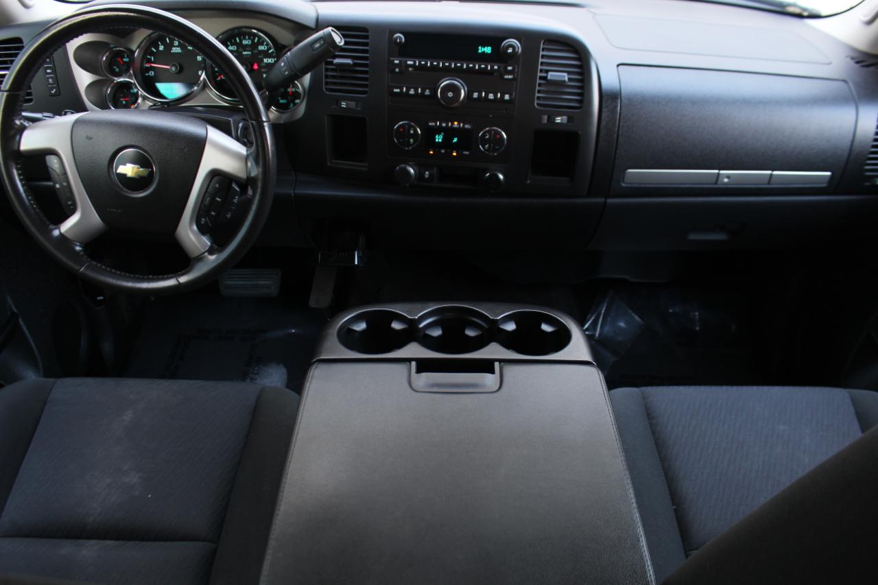 2012 Chevrolet Silverado 1500 2WD Crew Cab 143.5