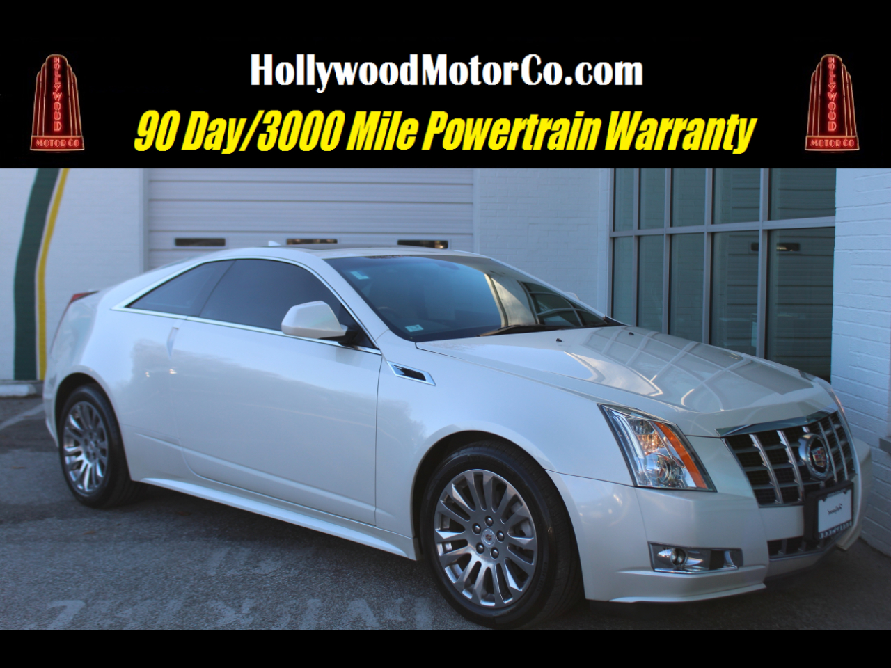 2013 Cadillac CTS Coupe 2dr Cpe Premium AWD