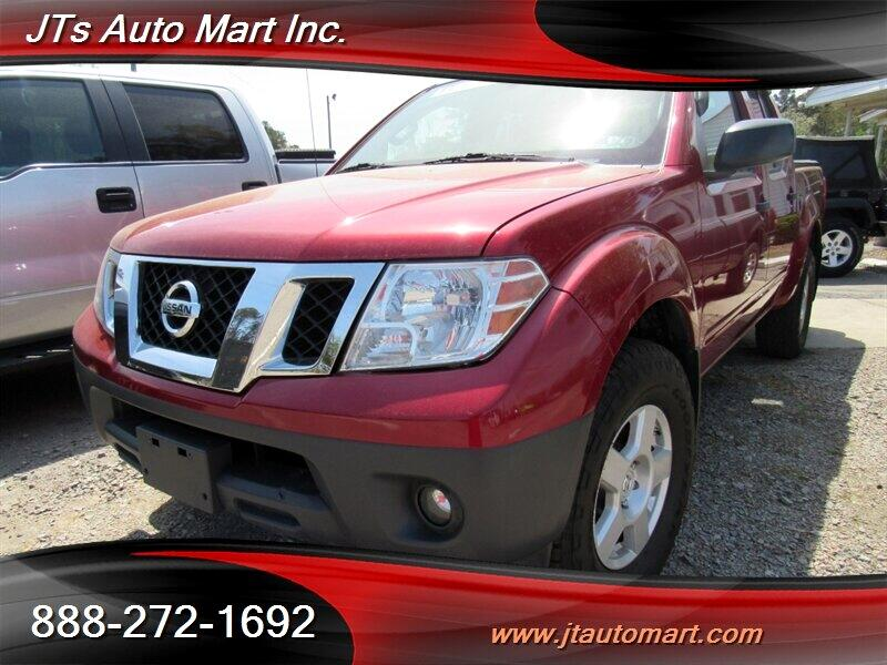 2012 Nissan Frontier 4WD Crew Cab SWB Manual S