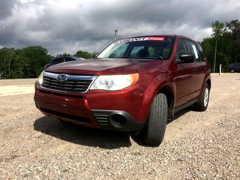 2009 Subaru Forester (Natl) 4dr Man X