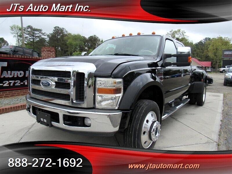 "2008 Ford Super Duty F-450 DRW 4WD Crew Cab 172"" XL"