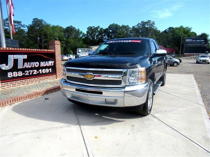 """2013 Chevrolet Silverado 1500 2WD Ext Cab 143.5"""" LT"""