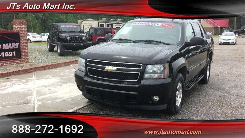 "2008 Chevrolet Avalanche 2WD Crew Cab 130"" LT w/3LT"