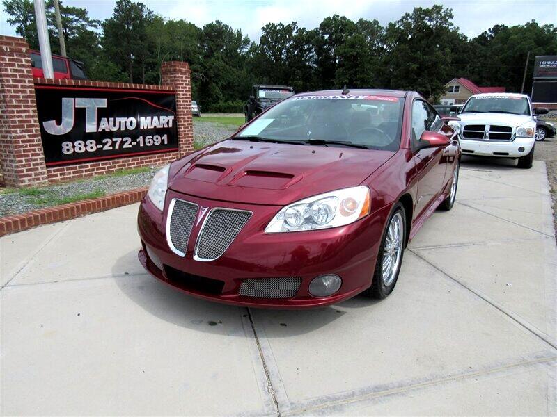 2008 Pontiac G6 2dr Cpe GXP