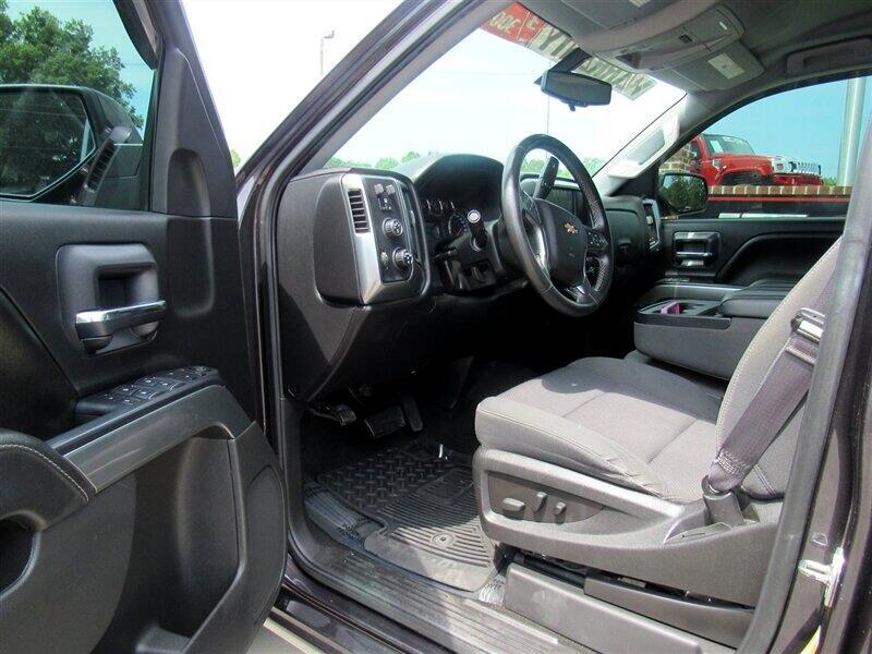 2016 Chevrolet Silverado 1500 4WD Crew Cab 143.5