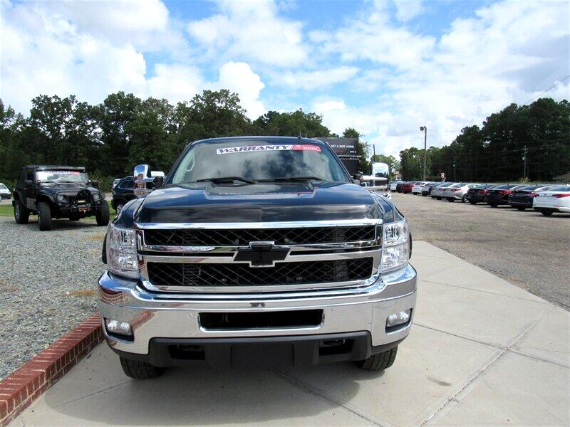 """2008 Chevrolet Silverado 2500HD 4WD Crew Cab 153"""" LT w/1LT"""
