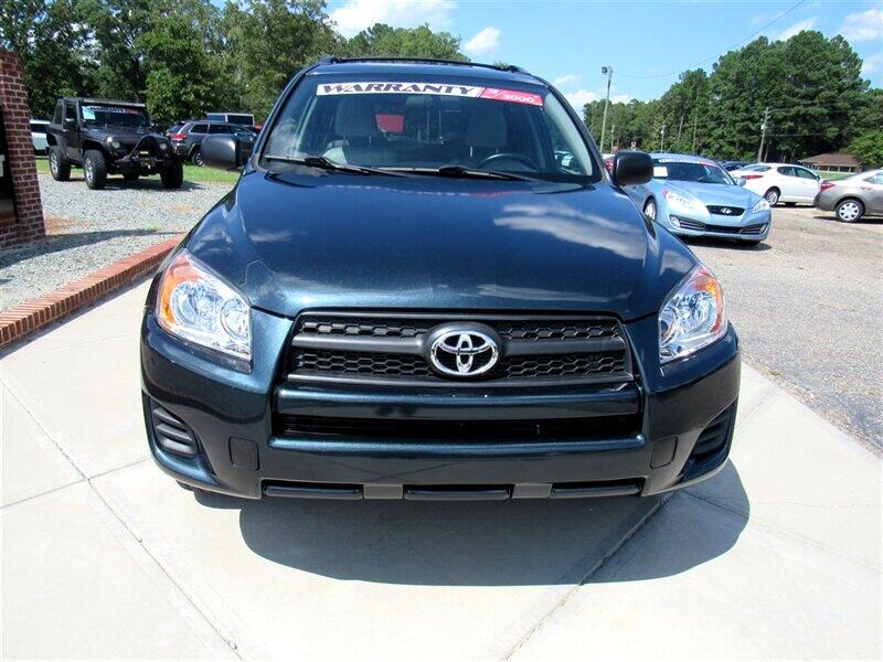 2009 Toyota RAV4 4WD 4dr 4-cyl 4-Spd AT (Natl)
