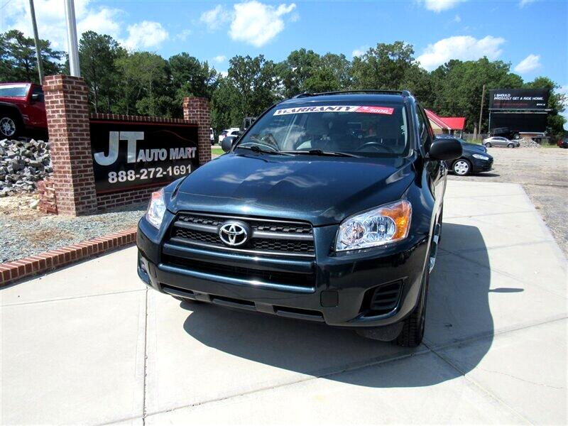 2009 Toyota RAV4 4WD 4dr 4-cyl 4-Spd AT (Natl)