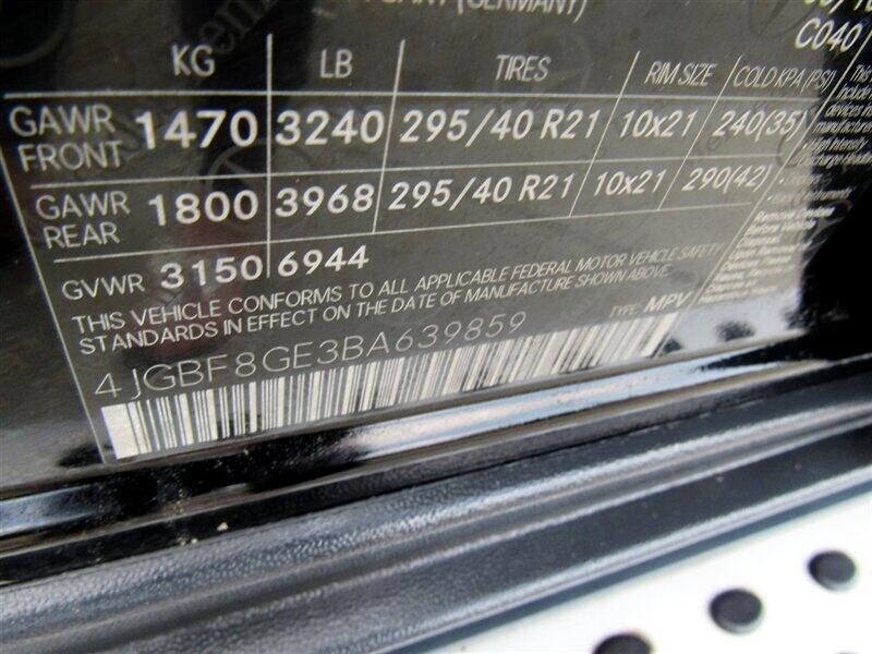 2011 Mercedes-Benz GL-Class 4MATIC 4dr GL 550