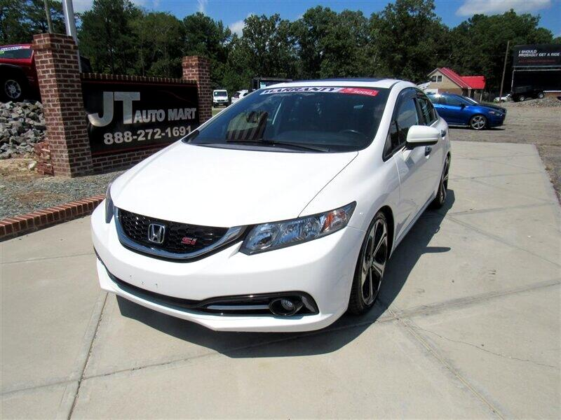 2015 Honda Civic Sedan 4dr Man Si w/Summer Tires