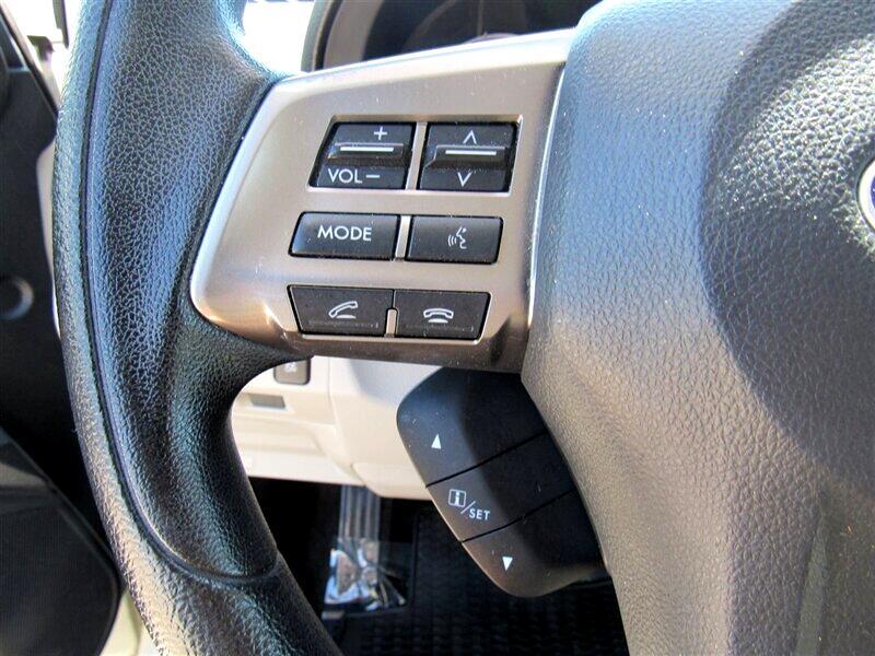 2015 Subaru Forester 4dr CVT 2.5i Premium PZEV