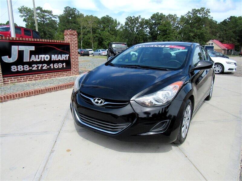 2012 Hyundai Elantra 4dr Sdn Auto GLS PZEV (Alabama Plant)