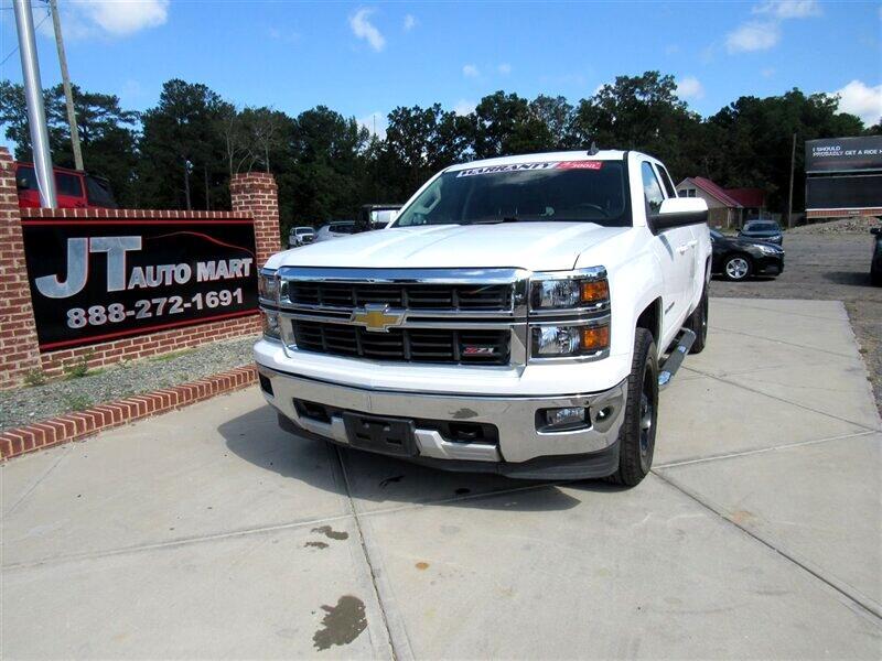"2015 Chevrolet Silverado 1500 4WD Double Cab 143.5"" LT w/2LT"