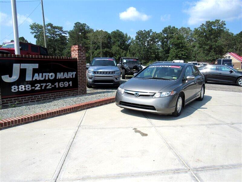 2007 Honda Civic Hybrid 4dr Sdn