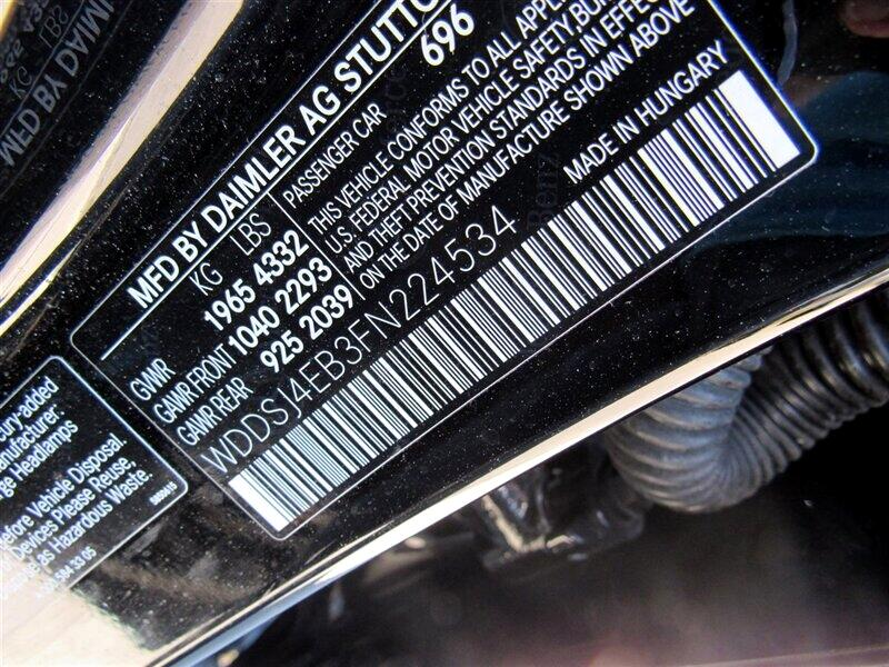 2015 Mercedes-Benz CLA-Class 4dr Sdn CLA 250 FWD