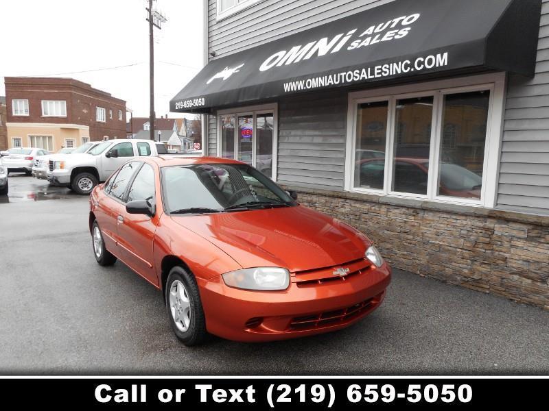 2005 Chevrolet Cavalier 4dr Base Sdn