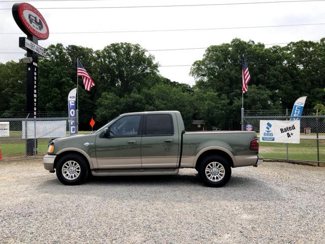 2001 Ford F-150 King Ranch SuperCrew Short Bed 2WD