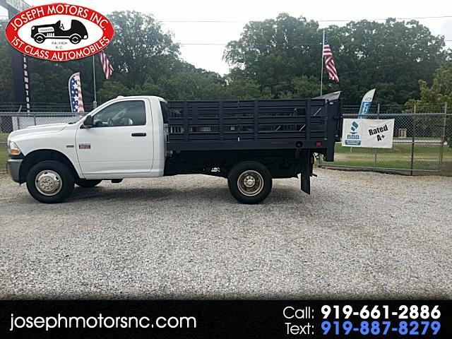 2011 Dodge Ram 3500 Regular Cab DRW 2WD