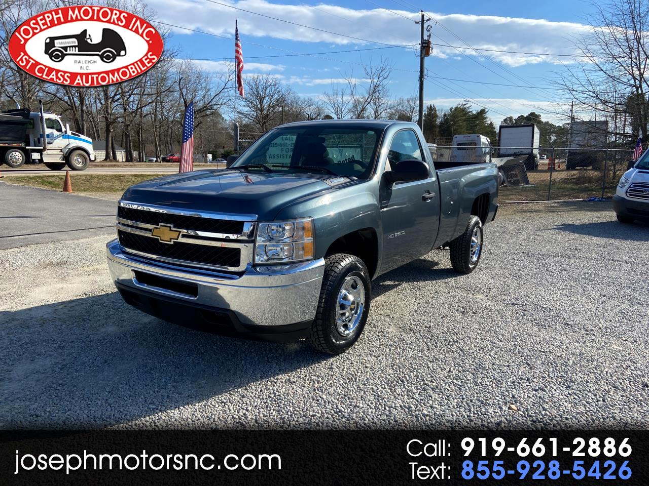 Chevrolet Silverado 2500HD Work Truck Long Box 4WD 2012