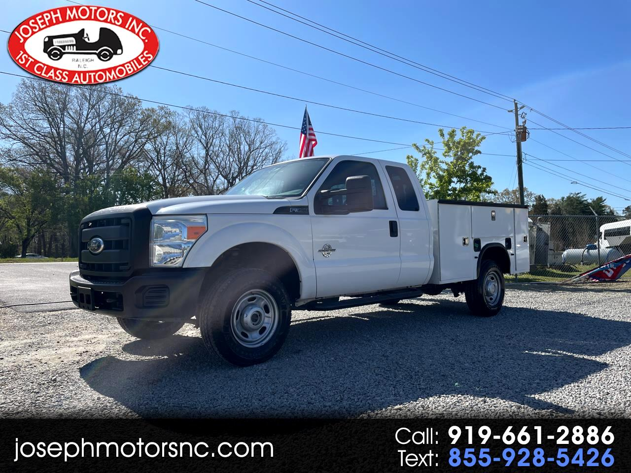 Ford F-350 SD XL SuperCab 4WD 2011