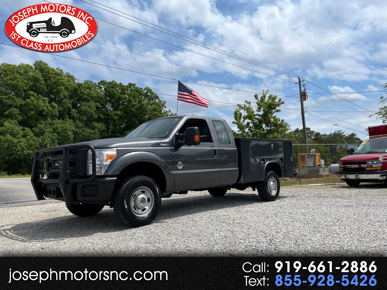 Ford F-350 SD XL SuperCab 4WD 2015