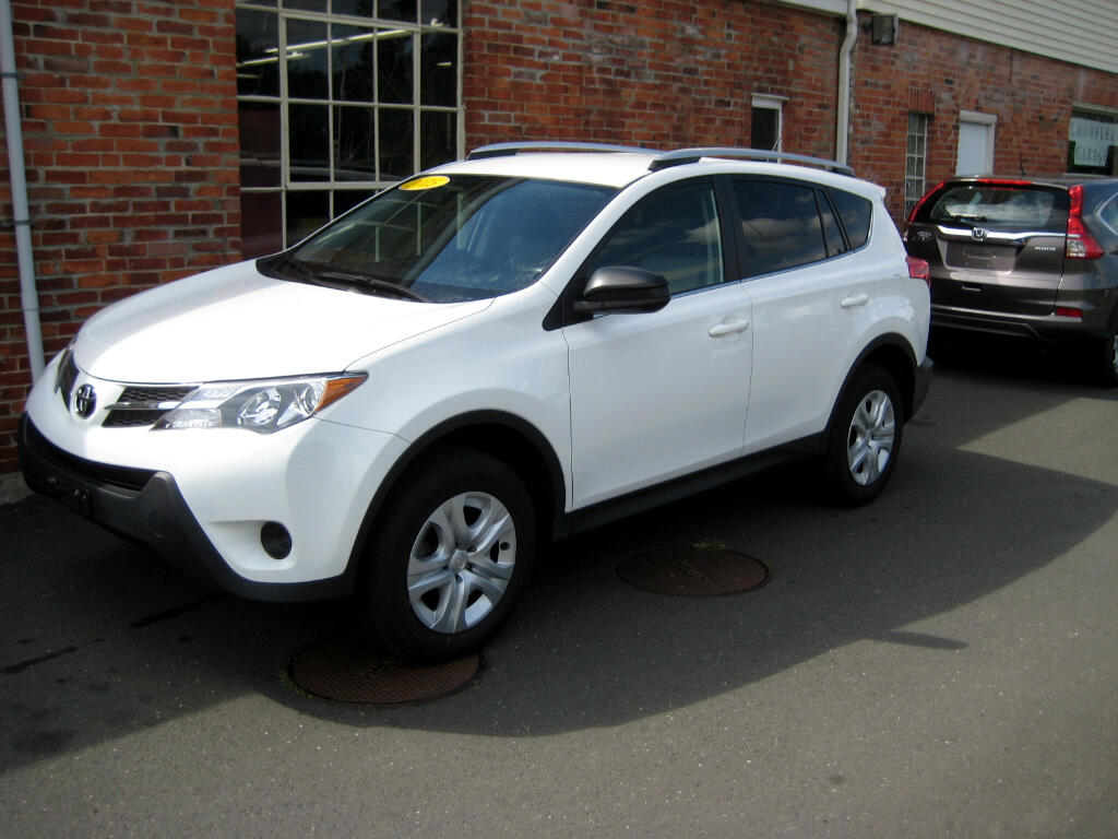 Buy Here Pay Here 2015 Toyota RAV4 AWD 4dr LE (Natl) for Sale in Bloomfield CT 06002 Bloomfield ...