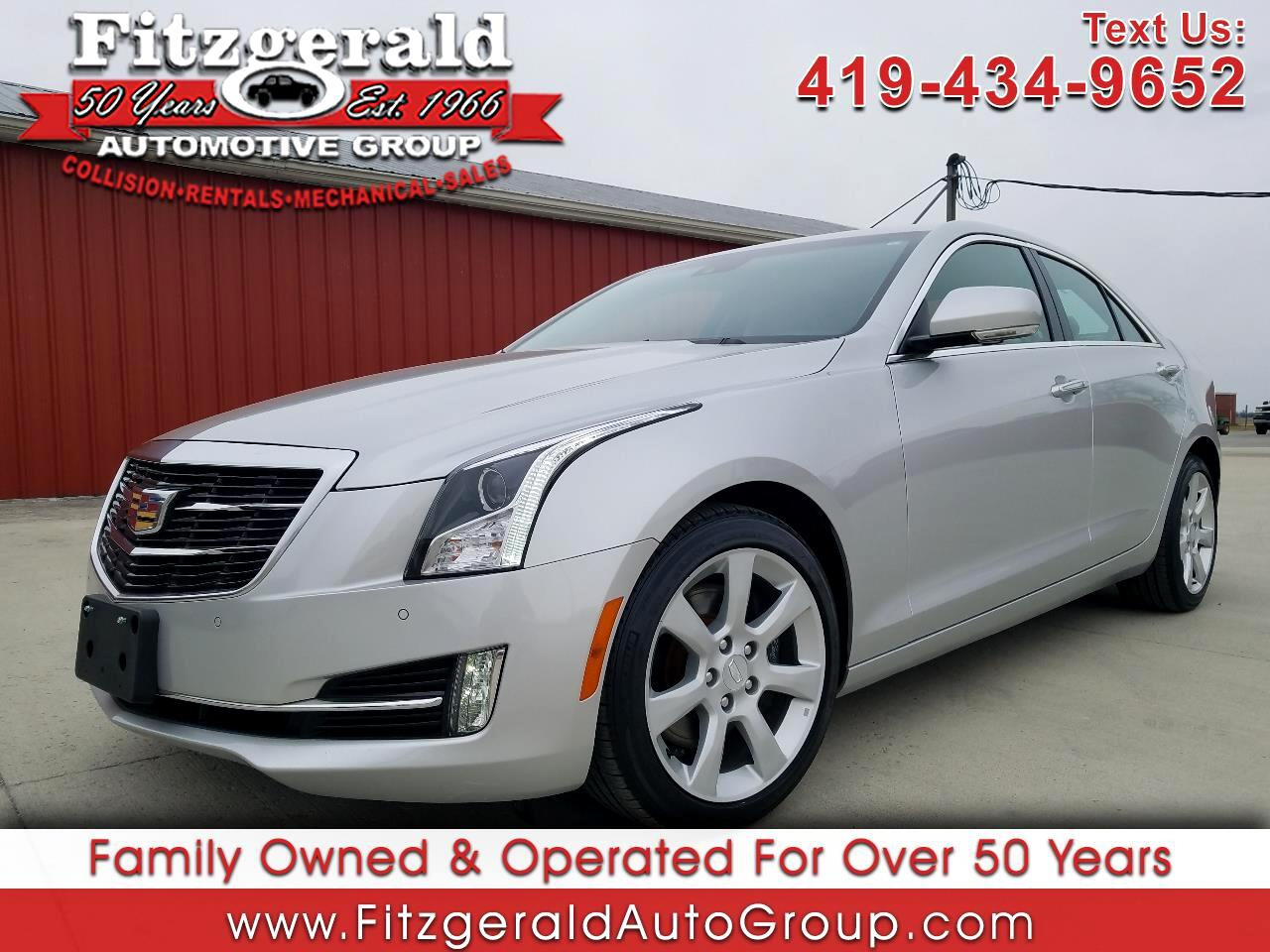 2015 Cadillac ATS Sedan 4dr Sdn 2.0L Performance AWD