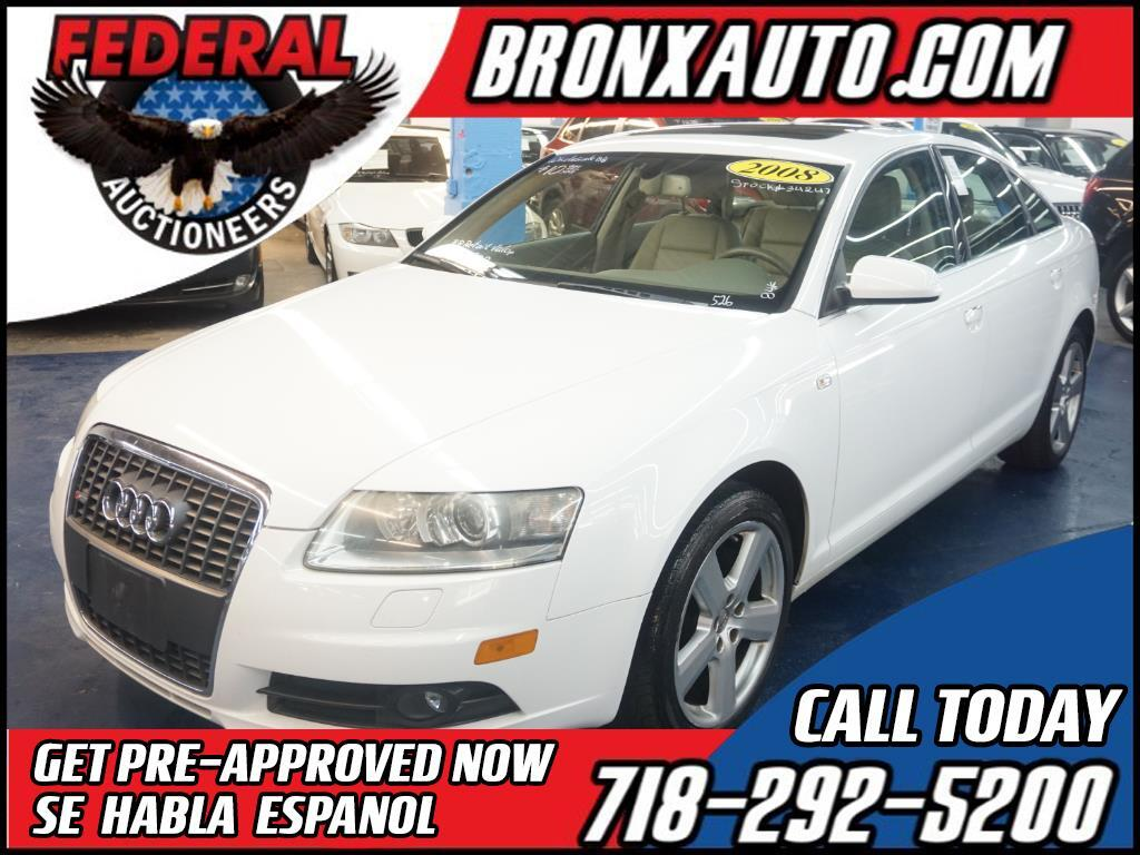 2008 Audi A6 4dr Sdn 3.2L FrontTrak *Ltd Avail*