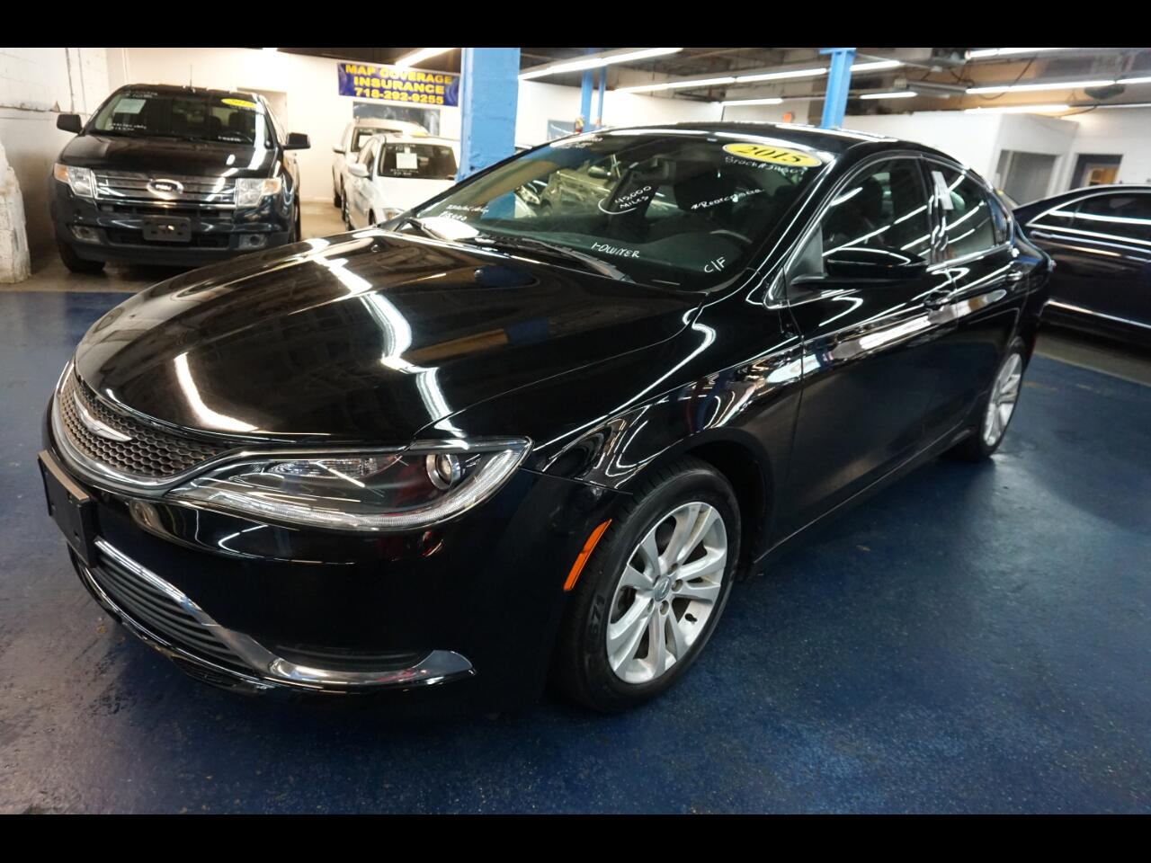 used 2015 chrysler 200 4dr sdn limited fwd for sale in bronx ny 10451 federal auctioneers. Black Bedroom Furniture Sets. Home Design Ideas
