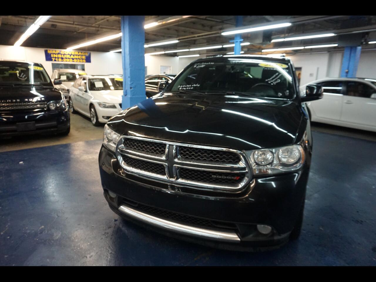 Used Cars Bronx Ny 718 292 5200 2012 Dodge Durango Crew Awd 4dr