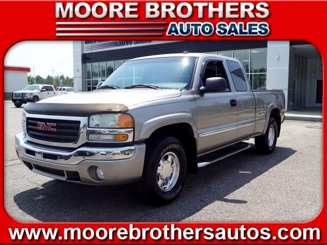 2003 GMC Sierra 1500 SLE Ext. Cab Long Bed 4WD