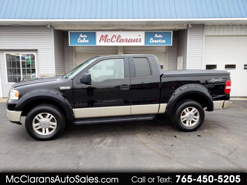 "2007 Ford F-150 4WD SuperCab 133"" XLT"