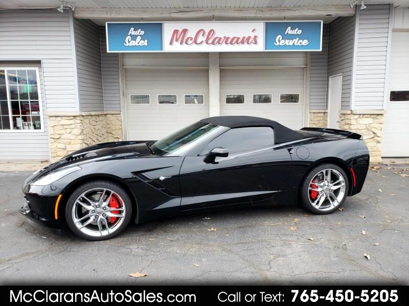 2018 Chevrolet Corvette Z51 2LT Convertible