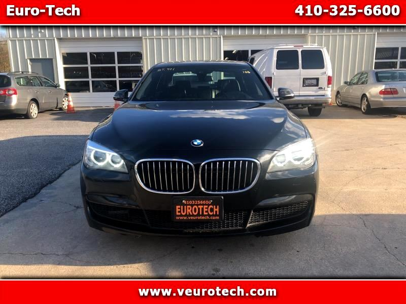 2013 BMW 750Li xDrive M Sport package