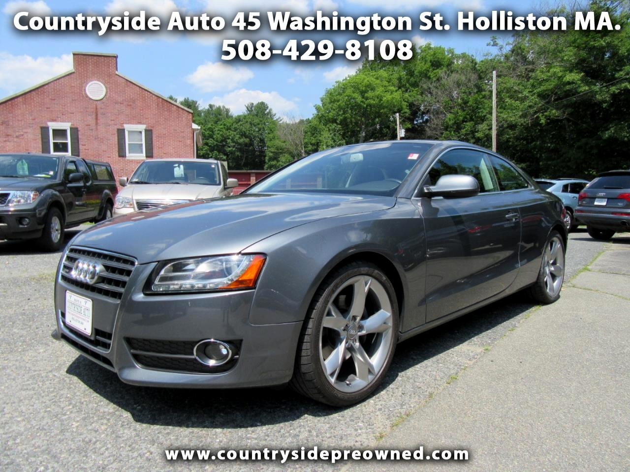 2012 Audi A5 Coupe 2.0T quattro Manual