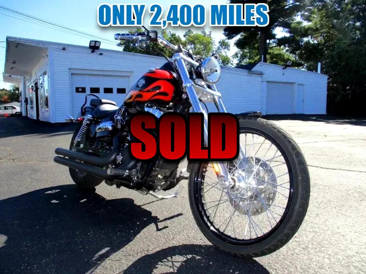 Harley-Davidson FXDWG  2010