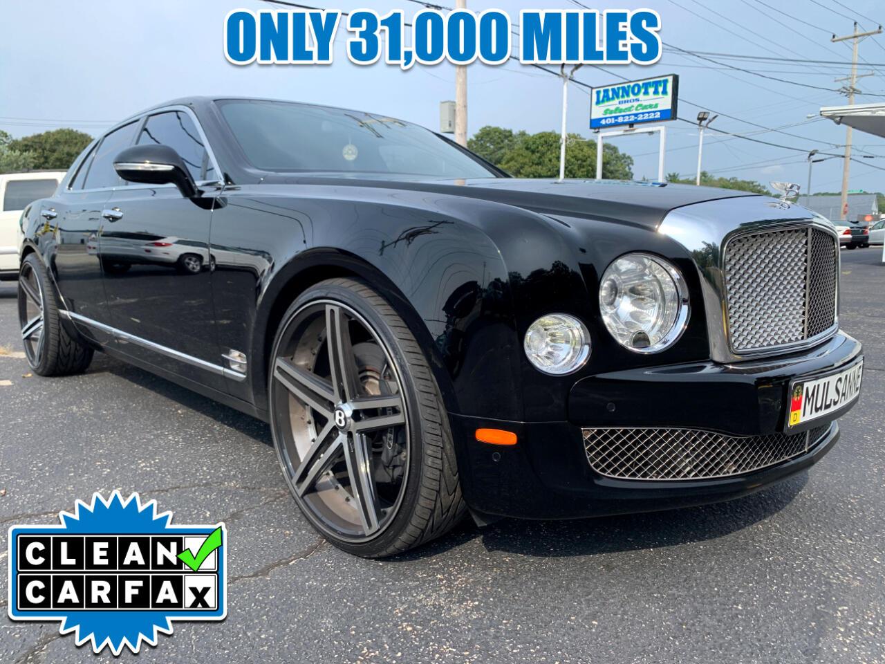 Bentley Mulsanne Sedan 2011