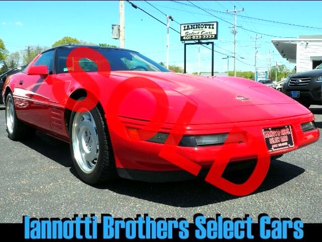 1992 Chevrolet Corvette 5.7 V-8 Automatic Loaded Clean Carfax 58000 Miles