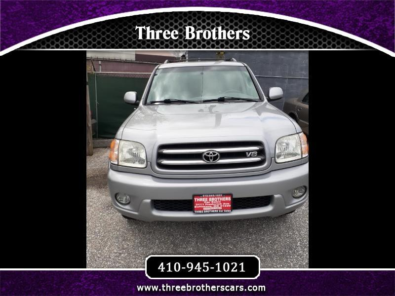 Toyota Sequoia Limited 4WD 2002