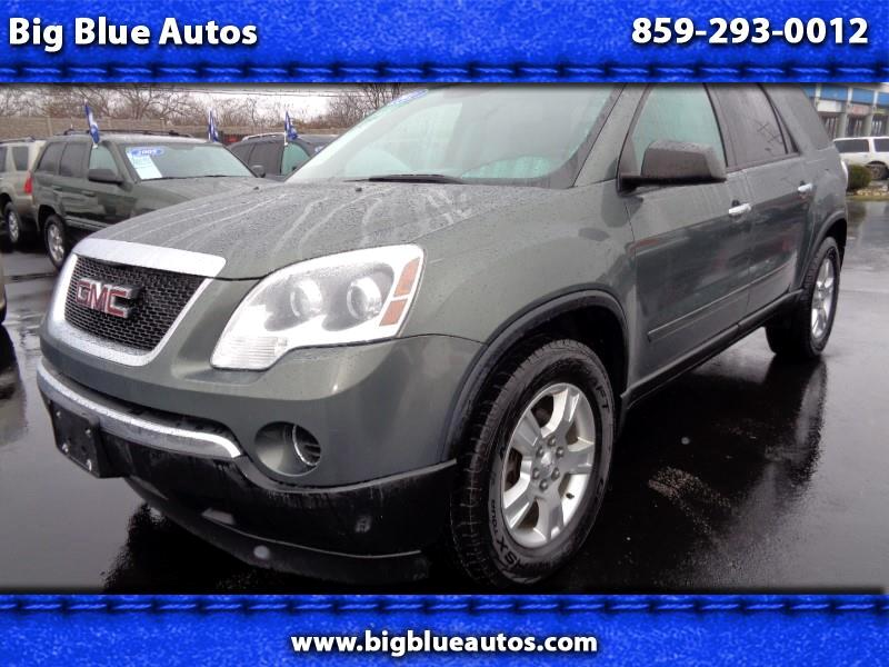 used 2011 gmc acadia sle 1 awd for sale in lexington ky 40505 big blue autos. Black Bedroom Furniture Sets. Home Design Ideas