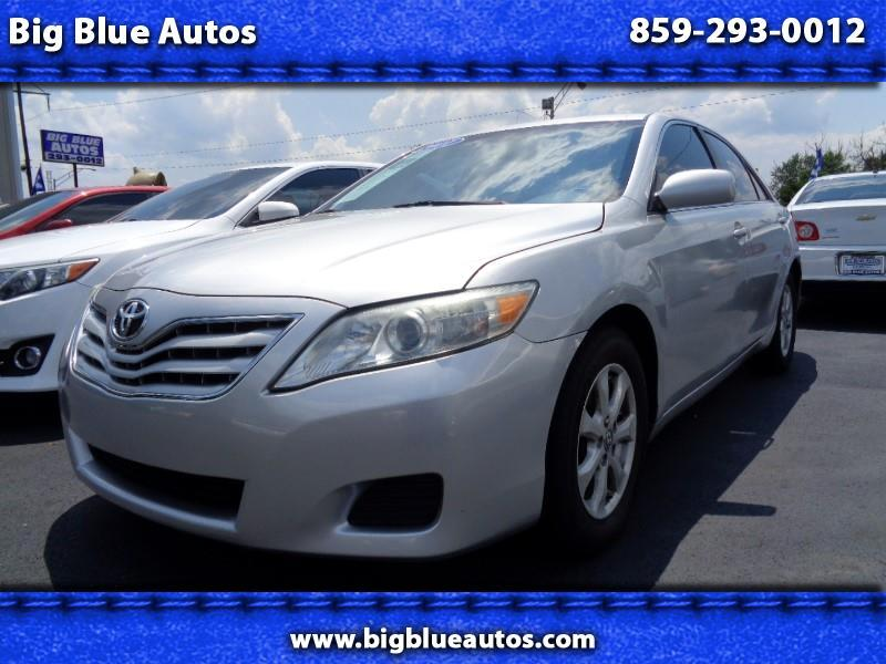 2011 Toyota Camry LE 6-Spd MT