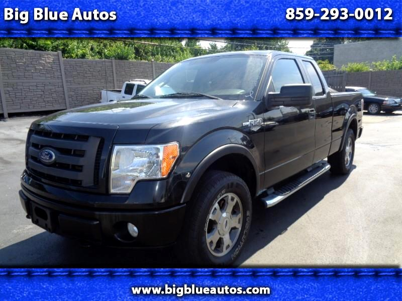 2010 Ford F-150 4WD SuperCab 145