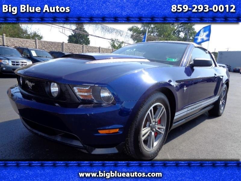 2011 Ford Mustang 2dr Conv Premium