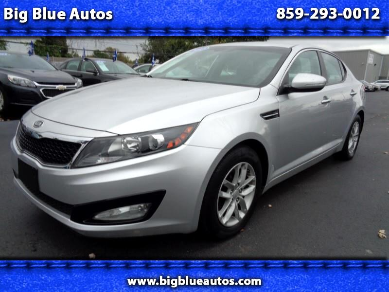 2012 Kia Optima 4dr Sdn LX Turbo