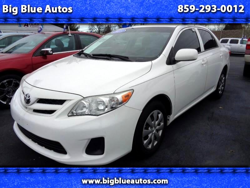 Toyota Corolla Base 4-Speed AT 2013