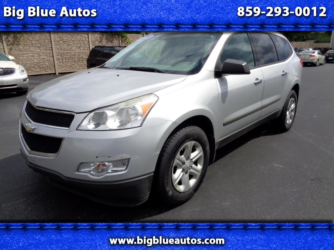 Chevrolet Traverse AWD 4dr LS 2012
