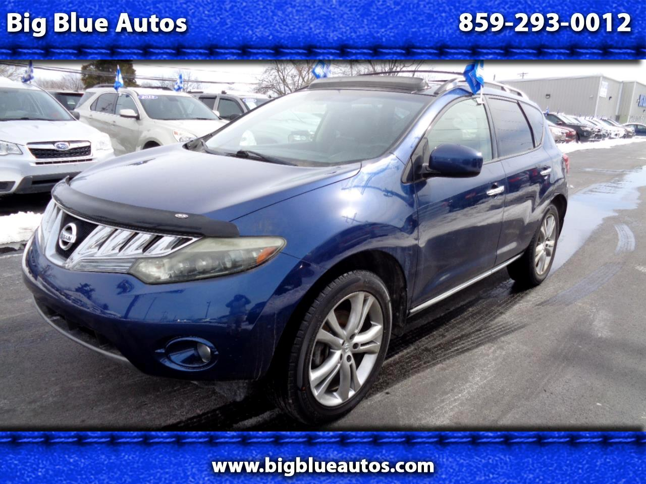 Nissan Murano AWD 4dr LE 2009